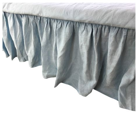 california king bed skirt cal king bed skirt 28 images blue linen bed skirt cal king 15 quot drop california