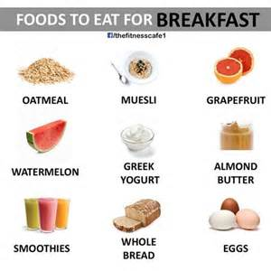 best foods to eat breakfast tfe times