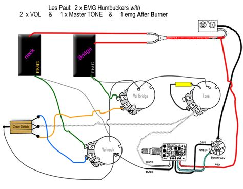 emg 89 wiring diagram emg 81 89 wiring diagram