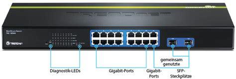 Trendnet Switch Teg 160ws 16 port gigabit web smart switch trendnet teg 160ws