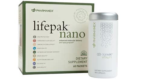 Vitamin Lifepak Ageloc Vitality Lifepak Nano Adr Kit