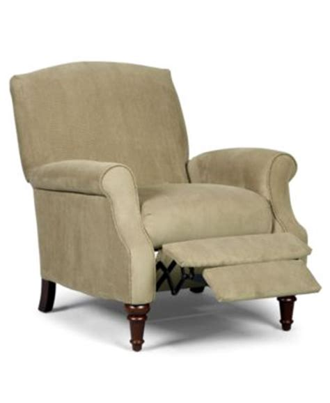 queen ann recliner andy recliner chair queen anne style furniture macy s
