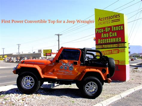 power convertible top for jeep wrangler my 2006 jeep wrangler with power convertible top by