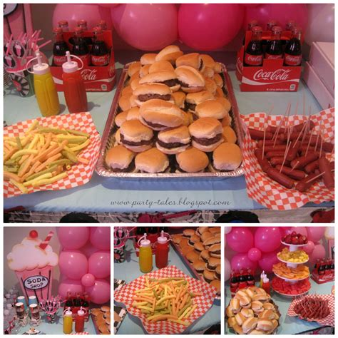 diner theme decorations tales birthday 50 s diner sock hop part 2