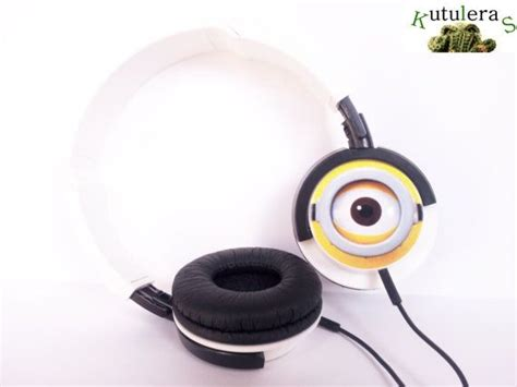 tattoo printer moodinq headphones despicable me geek gru villain minion yellow