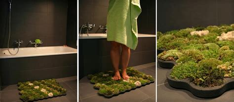 Plant Bath Mat by Moss Bathroom Mat By Nection Design