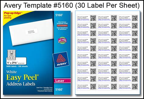 label templates for word 30 per sheet avery template for labels