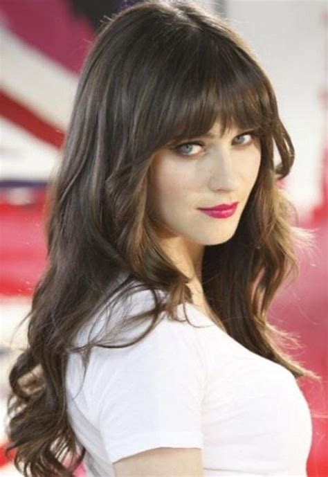 brunette long hairstyles with bangs 15 fantastic hairstyles for long hair pretty designs