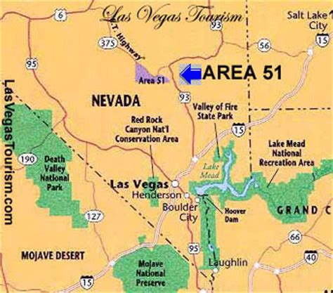 area 51 map image las vegas nevada area 51 map