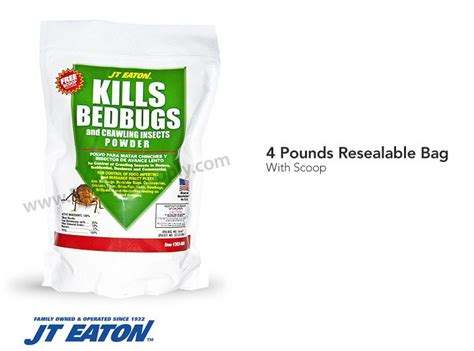 j t eaton kills bed bugs powder
