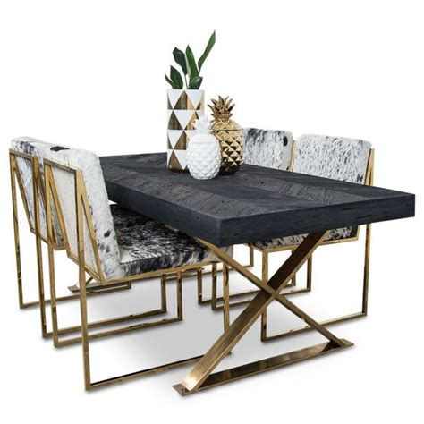 dining table with gold legs modern dining tables slab dining tables modshop