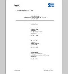 Reference Outline Format Resume by Reference List Template Affordablecarecat