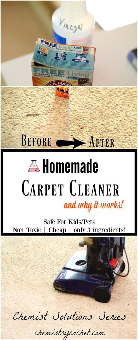 Rug Cleaner Recipe by Easy Carpet Cleaner Only 3 Ingredients