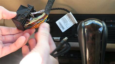 bmw auxiliary audio input kit installation diy bmw