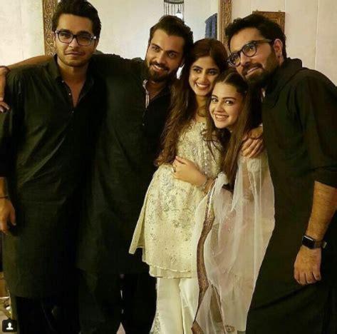 Zara Noor Abbas & Asad Siddique Engagement Pictures