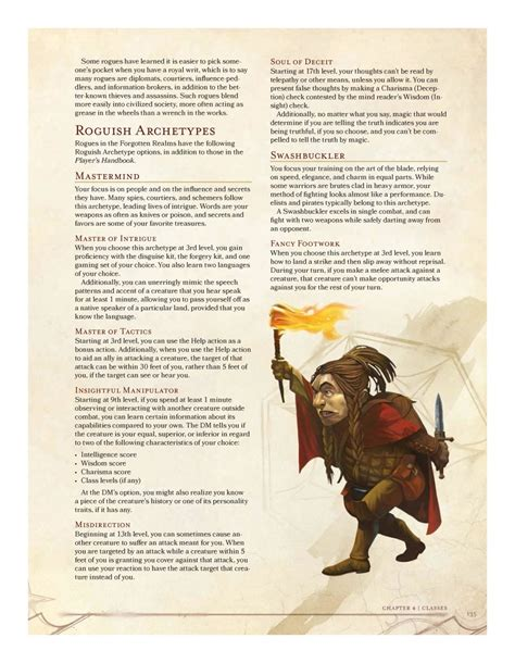 an adventurer s guide to the world of baking wizardry books sword coast adventurer s guide preview roguish archetype