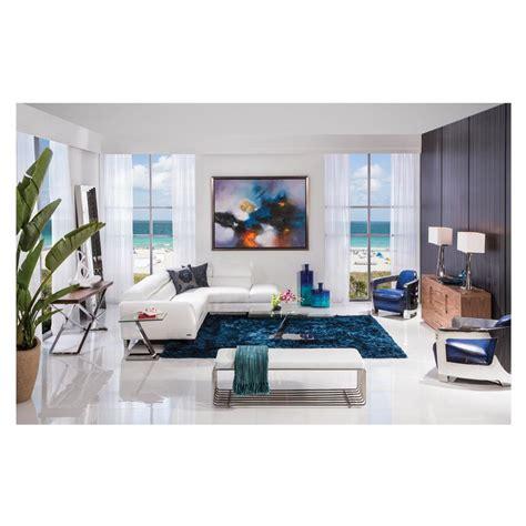 el dorado furniture leather sofas sparta white leather sofa w right chaise el dorado furniture