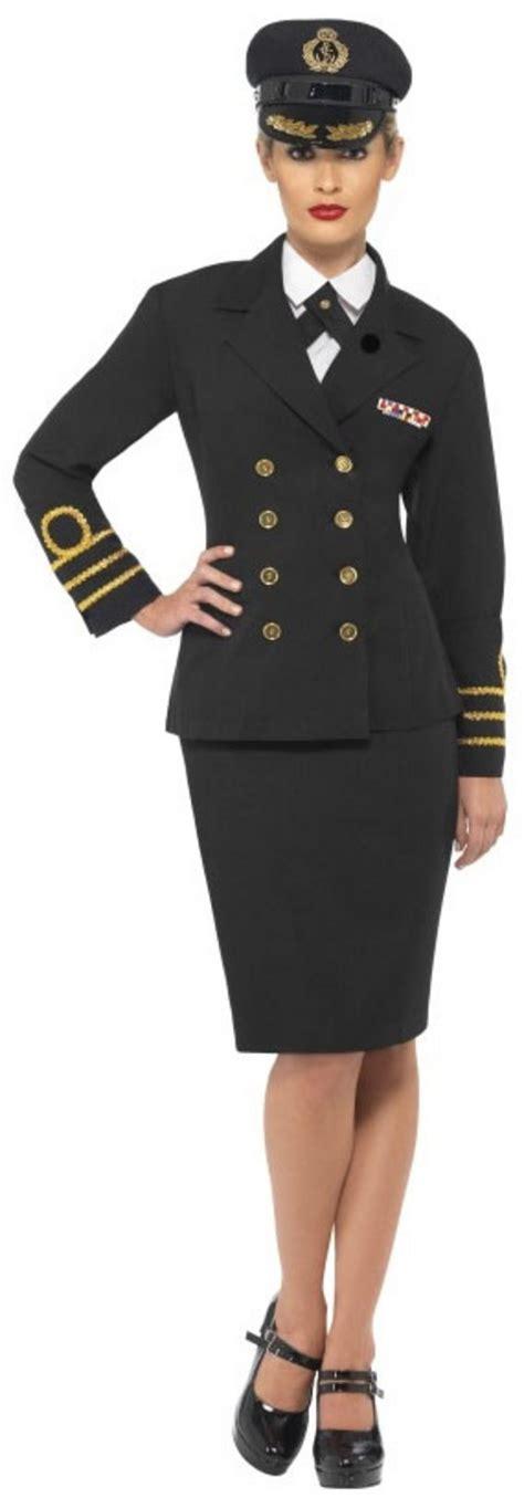 Navy Officer Dress by Navy Officer Fancy Dress Costume All
