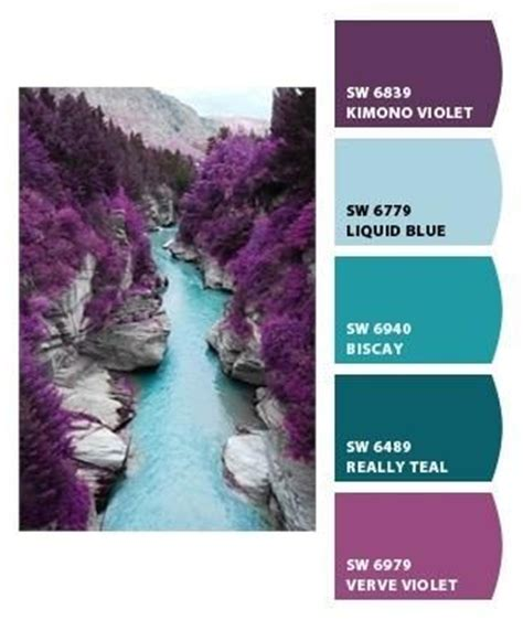 colors that look good with purple 25 best ideas about aqua color schemes on pinterest