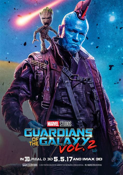 Baju Guardian Of The Galaxy 8 posterindividual2gotgvol 2yonfu and groot png 1127 215 1600 guardianes de la galaxia vol 2