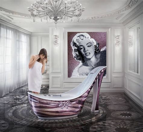 shoe bathtub sicis the art mosiac factory a fashionista s dream shoe