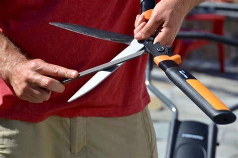 How To Sharpen Garden Shears by How To Sharpen Clean Garden Tools Garden Tool Upkeep