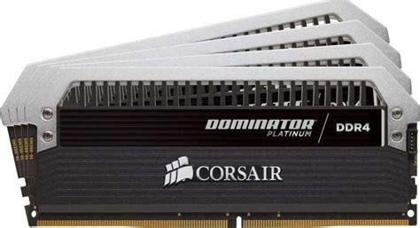Memory Ram Ddr4 Corsair Dominator Platinum Rog Cmd16gx4m4b3200c16 4x 1 corsair dominator platinum series 16gb 4x4gb ddr4 dram 3200mhz c16 memory kit