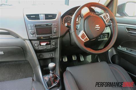 Suzuki Sport Interior 2012 Suzuki Sport Review Performancedrive
