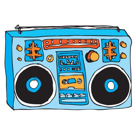 Boombox Clipart boombox drawing clipart best