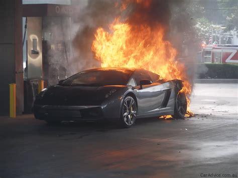 Lamborghini Murcielago fire   Photos (1 of 15)