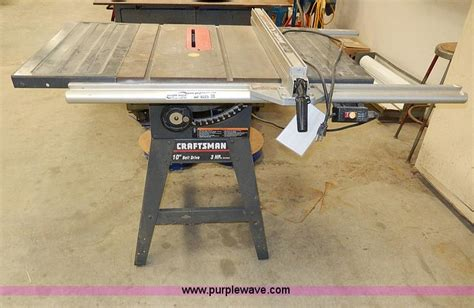 Craftsman 113 299315 10 Quot Table Saw No Reserve Auction On