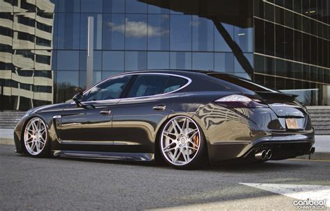 stanced porsche panamera the hottest looking porsche panamera i have ever seen