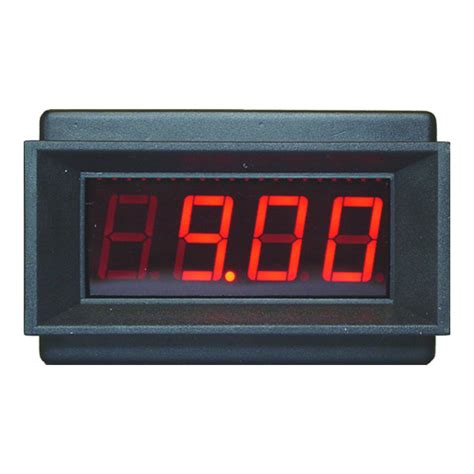 Meter Digital new 9v led panel meter pm 129a digital panel meters circuit specialists