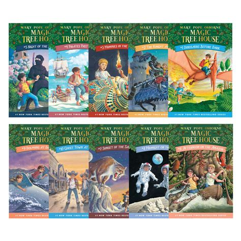 magic tree house series the magic tree house series books 1 10 literature books eai education