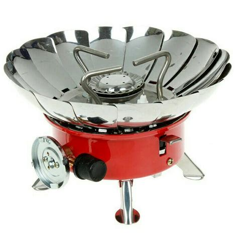 Kompor Portable Windproof kompor gas portable mini windproof cing stove kompor