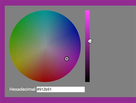 hsv color picker animated color palette plugin for jquery color swatches