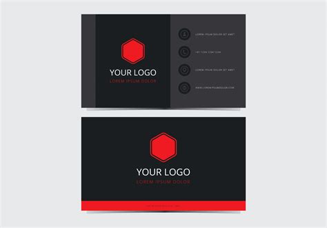 Stylish Business Cards Templates Free by Stylish Business Card Template Free Vector