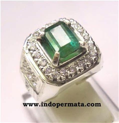 Perhiasan Zamrud Asli Ring Perak Emerald Beryl Top batu permata zamrud 284 toko batu permata batu permata batu mulia asli