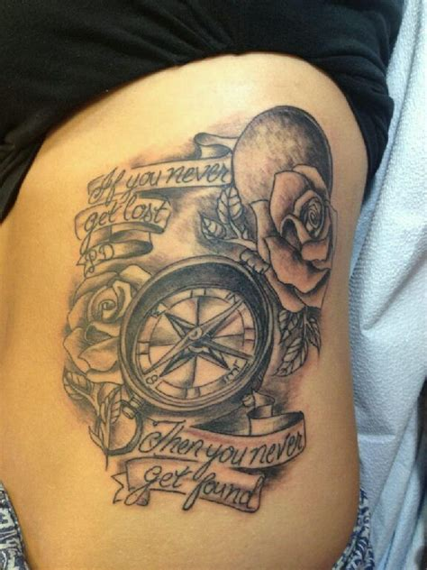 compass tattoo with quote 75 amazing compass designs mens craze