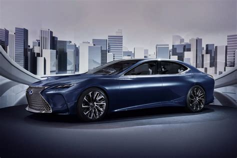 lexus lf fc 2018 lexus ls might get turbo engine autoevolution