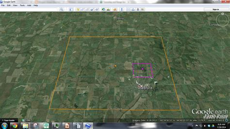 section township range google earth genea musings finding the taylor county iowa properties