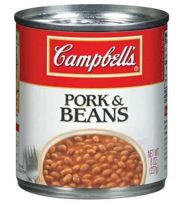 pork and beans pork and beans cbells food service