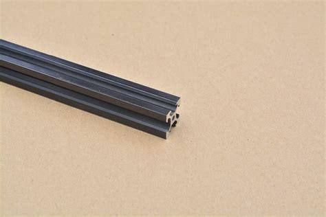 V Slot Aluminium Profile Extrusion Rail 2020 Black Ox Cnc Frame 100cm 1 500mm 2020 v slot aluminium extrusion profile black 3dpmav