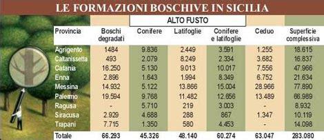 uffici territoriali speciale tutela patrimonio boschivo sicilia parchi