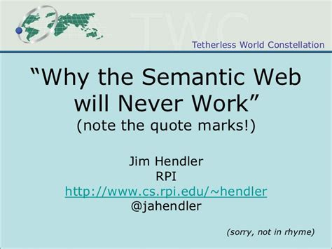 semantics quotes quotesgram quot why the semantic web will never work quot note the quotes