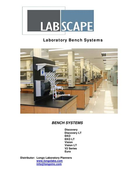 bench catalogue labscape lab bench catalog 2010