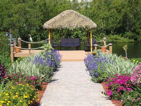 Garden Tiki Hut tikimundo custom aluminum fauxboo tiki huts
