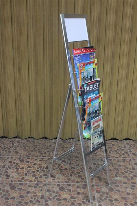 Jual Rak Display Gantung jual rak display majalah tipe 2