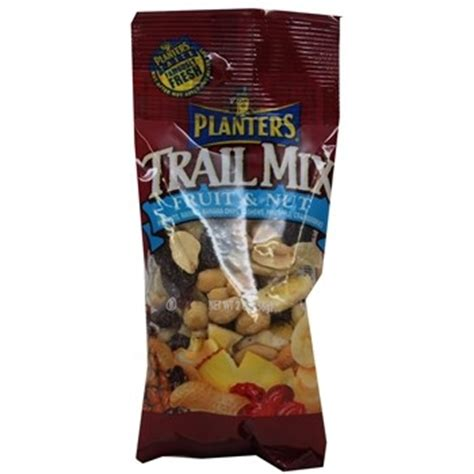 Planters Fruit And Nut Trail Mix by Planter S Tropical Fruit Nut Trail Mix 72