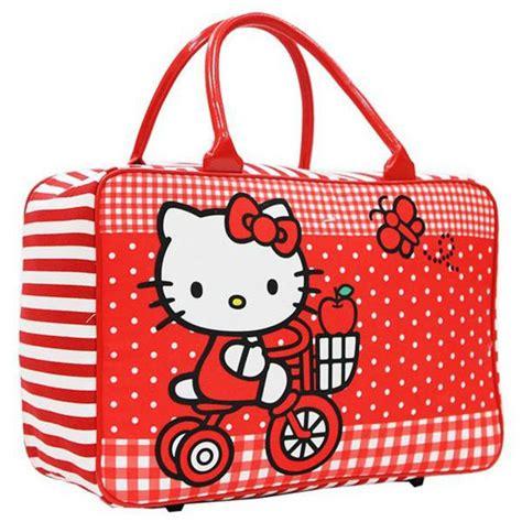 Travel Bag Kanvas Tas Renang travel bag murah kanvas karakter dewasa hello